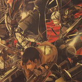 Scout Assault Attack On Titan Poster Print