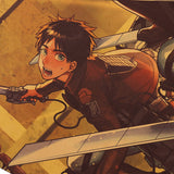 The Scouts Charge Attack On Titan Poster Print