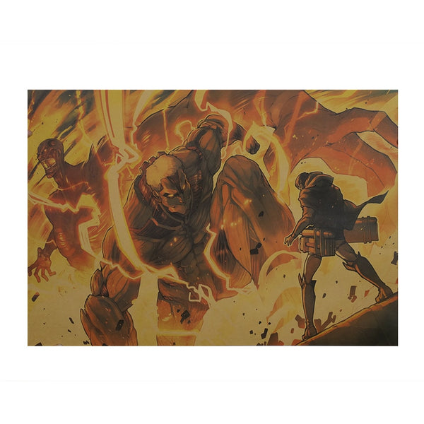 Armored Titan Attack On Titan Poster Print