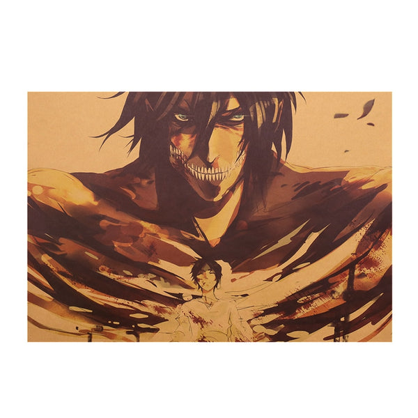 Erin Attack On Titan Poster Print