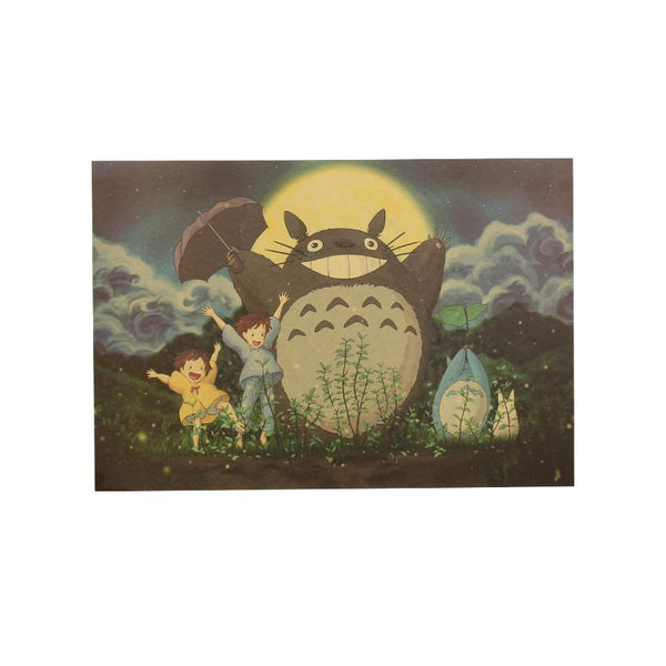 Plants in the Night Poster (My Neighbor Totoro) 20x14in (51x36cm)