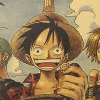 LARGE One Piece Welcome to the Crew Poster 20x14in (51x36cm)