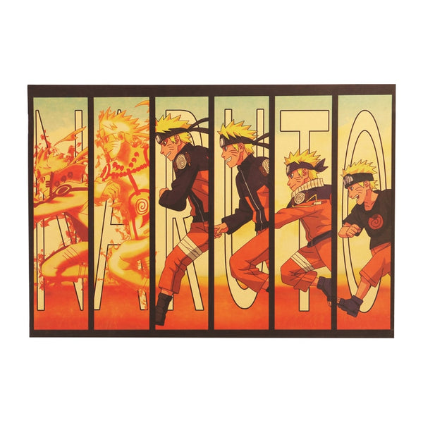 Large Naruto Kyubi Unleashed Vintage Poster 20X14in (51.5X36cm)