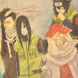 LARGE  Naruto Heroes and Villains Poster