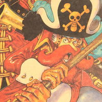LARGE One Piece Charge Retro Poster 20x14in (51x36cm)