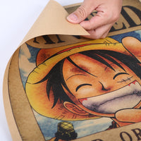 Large Luffy One Piece Most Wanted Poster  20x14in (51x36cm)