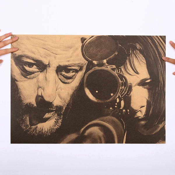 Leon The Professional Sniper Poster