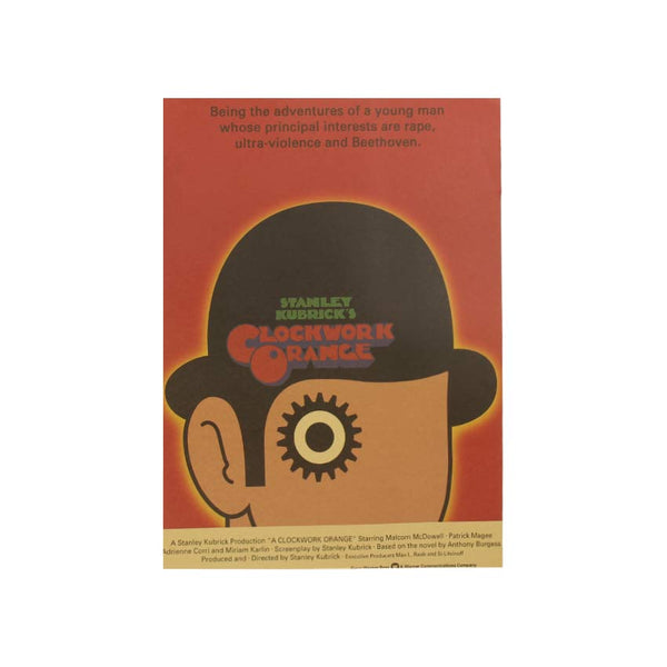 LARGE A Clockwork Orange Original Movie Poster