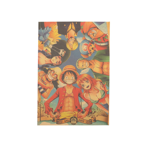LARGE One Piece Top Down Poster 20x14in (51x36cm)