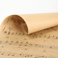 LARGE Musical Notation Poster