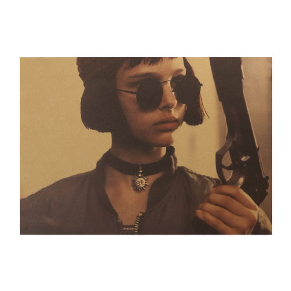 Leon The Professional Matilda Cocked Poster