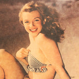 Young Marilyn Monroe Swimsuit Poster