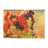 LARGE Naruto, Sakura and Sasuke Genin Poster