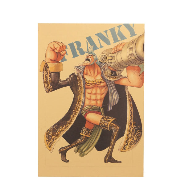 LARGE Franky Hero Pose One Piece Poster