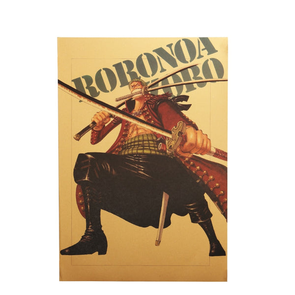 LARGE Rorona Zoro Hero Pose Poster