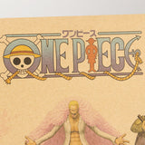 LARGE One Piece Character Scroll Poster Print I