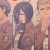 LARGE Attack on Titan Character Banner
