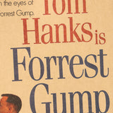 Forest Gump Original Movie Poster
