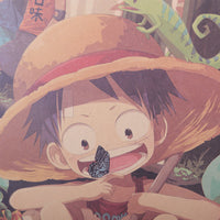 LARGE One Piece Luffy Garden Poster 20x14in (51x36cm)