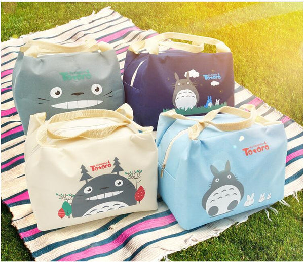 NEW My Neighbor Totoro Canvas Lunch Bags