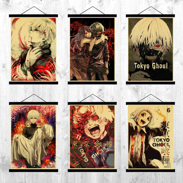 Tokyo Ghoul Various Poster Print Collection (Buy 3 Get 1 Free)