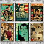 Various Archer Posters (Various Styles and Sizes)