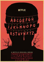 LARGE or MEDIUM Assorted STRANGER THINGS Vintage Print Poster **BUY 3 GET ONE FREE**