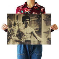 LARGE Bruce Lee Poster Prints