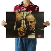 The Godfather Classic Movie Poster