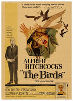 Various Alfred Hitchcock Retro Film Movie Poster Prints