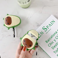 Cute Avocado Airpods Case for Apple Airpod headphones