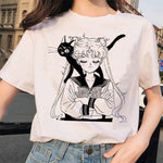 Sailor Moon Retro T Shirts