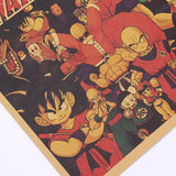 Dragonball We are The Ultimate Heroes Print 70X22cm