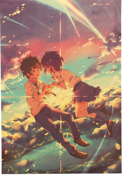 LARGE Your Name Falling in Love Movie Poster