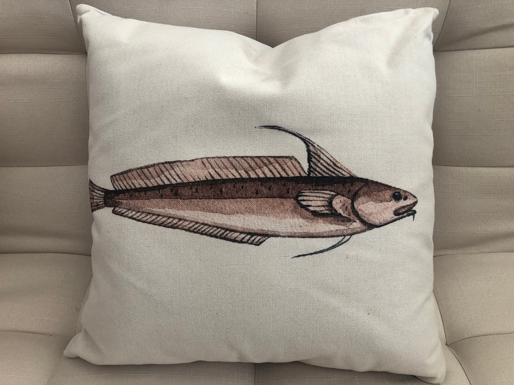 Cojín Decorativo Pez Aguja // Needle Fish Pillow