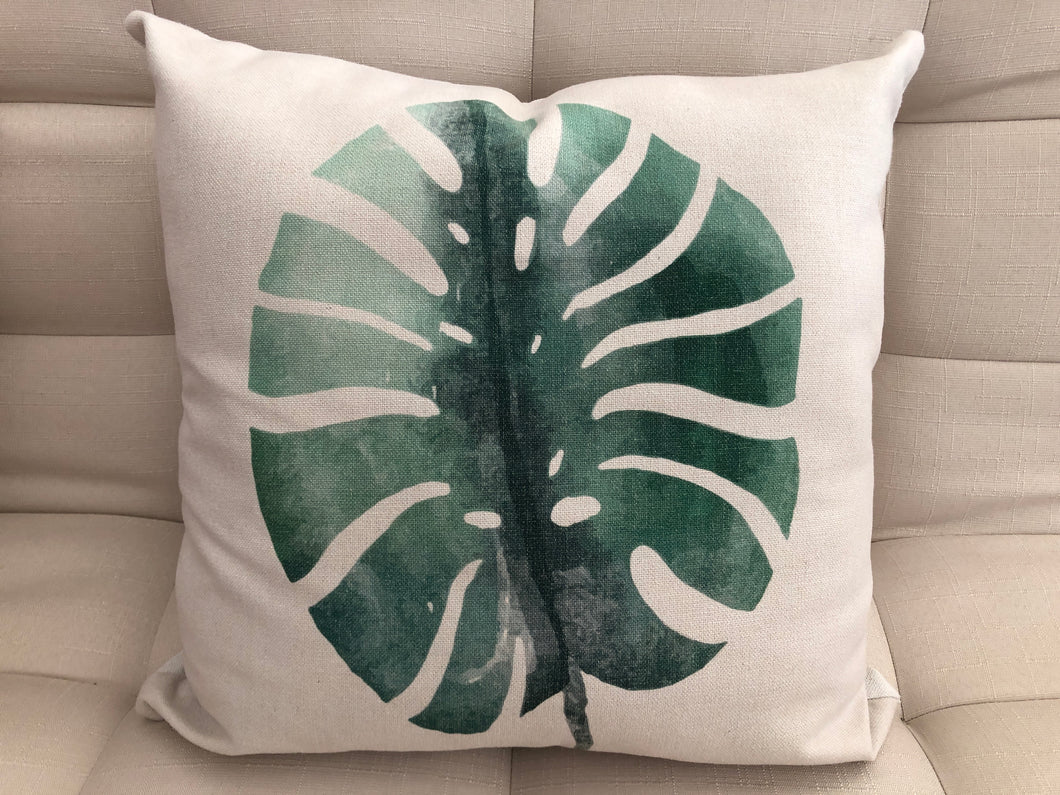 Cojín Decorativo Hoja // Leaf Pillow