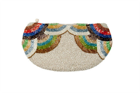 Lisbeth Dahl Beaded Clutch Bag