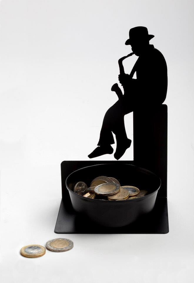 Artori Design | Saxophonist Coin Holder