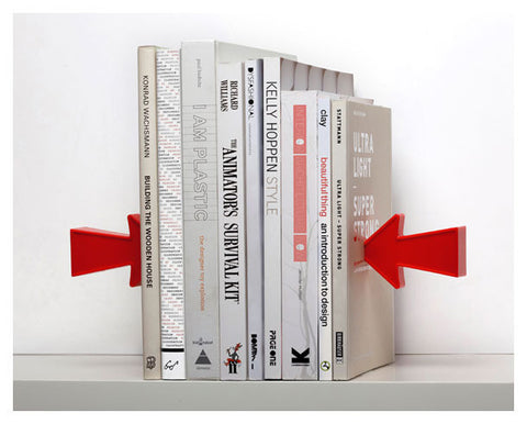 Peleg Design | Arrow Book Ends
