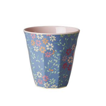 Rice DK | Two Tone Melamine Cup Wild Flower Print