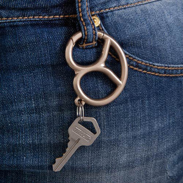 Ototo Pretzel Key Ring