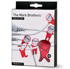 Peleg Design | Mark Brothers Cable Labels