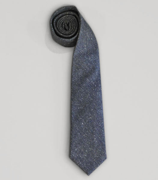 SPECKLED TWEED TIE