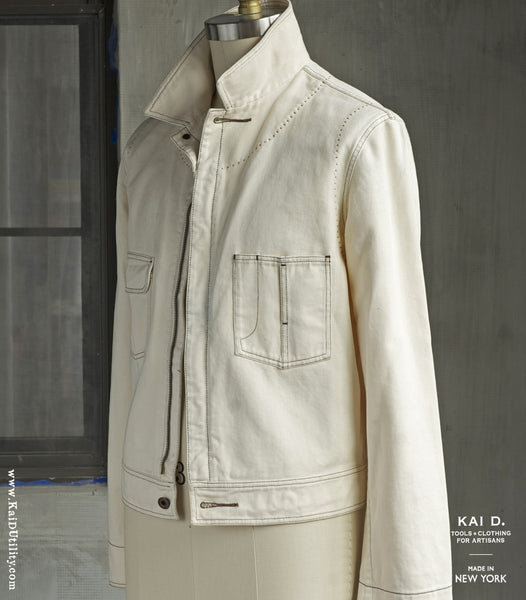 Natural Twill Miner Jacket - M