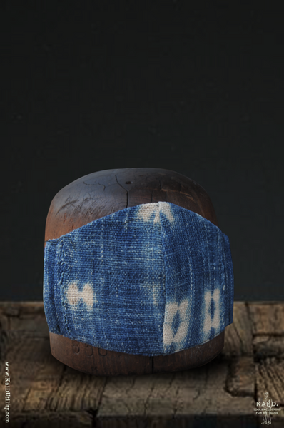 Cloth Face Mask - West African Indigo