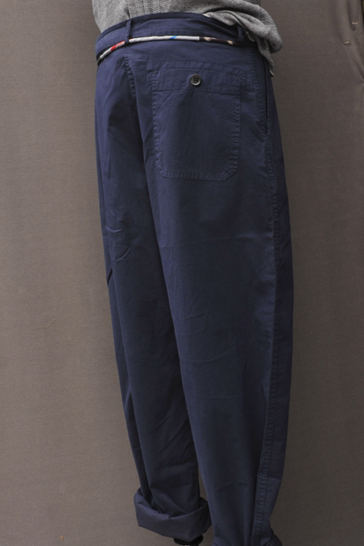 High Rise Rigging Pants - Admiral Blue - 32, 34, 36