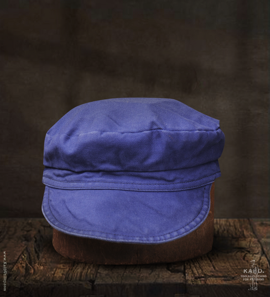 Dungaree Twill Cap - French Blue