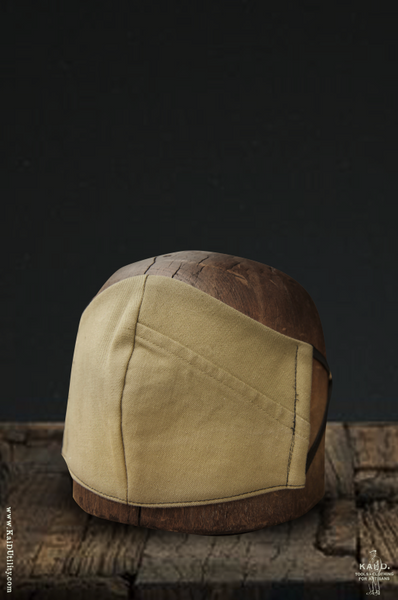 Cloth Face Mask - Vintage Military twill (Pieced)