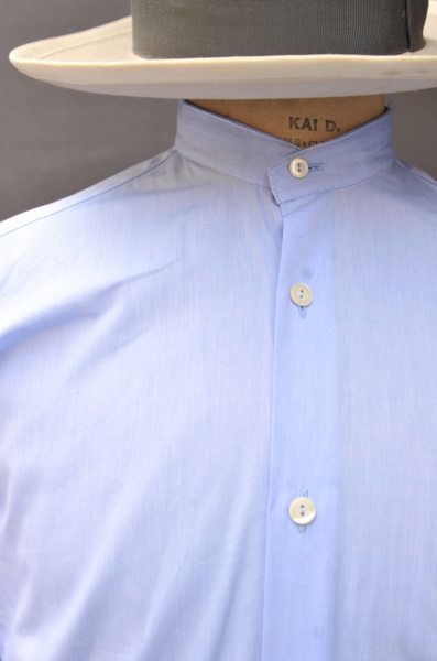 Mateo Broadcloth Shirt - Classic Blue - 39, 43, 45