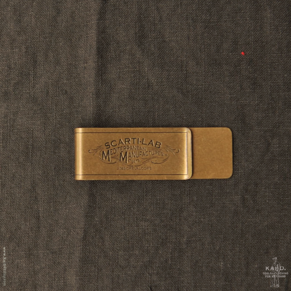 Money Clip - Brass